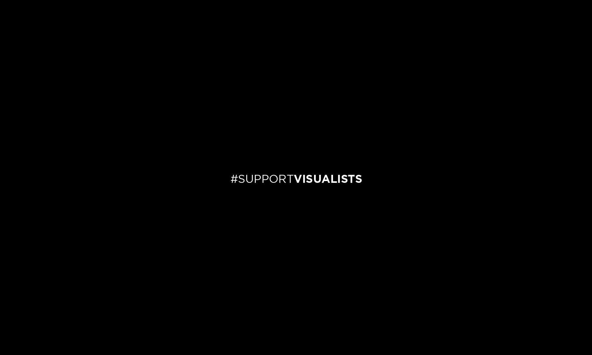 #supportvisualists